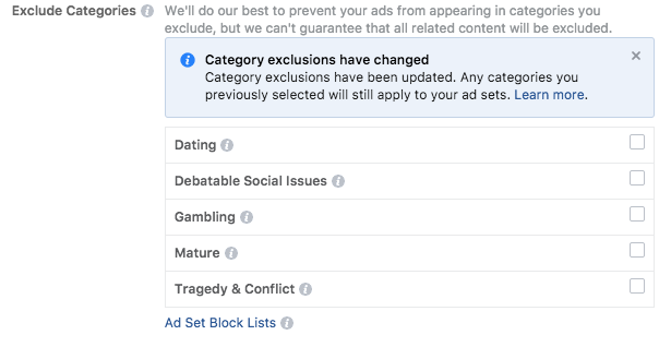 facebook-ads-manager-exclude-categories