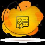ikona certyfikatu oraz bezpieczenstwa